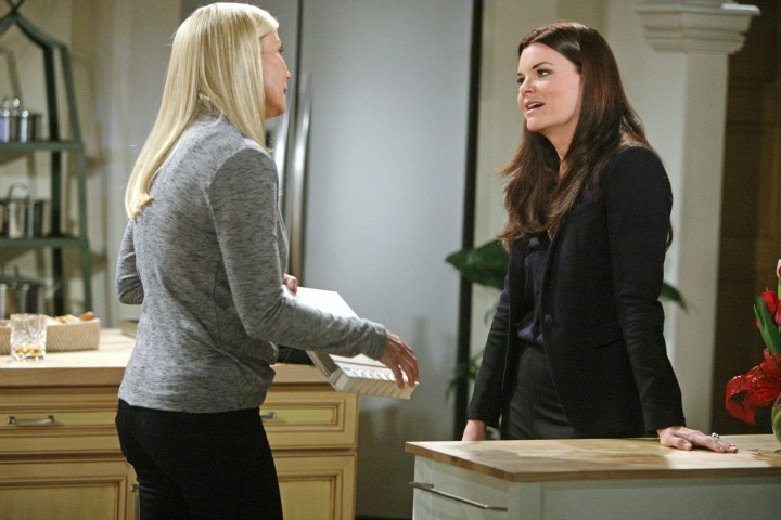 Katie confronts her sister.