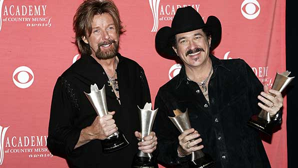 Brooks & Dunn have won the most ACM Awards.