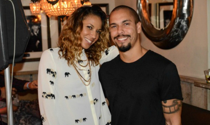 The Young and the Restless' Bryton James and his girlfriend Sterling Victorian