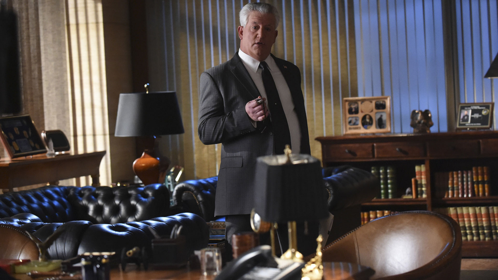 Gregory Jbara as DCPI Garrett Moore
