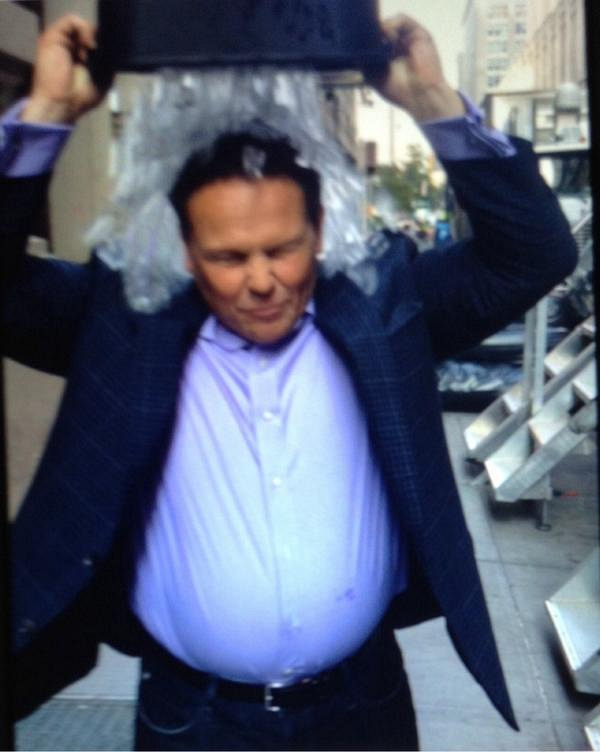 10. When he completed the ALS Ice Bucket challenge!