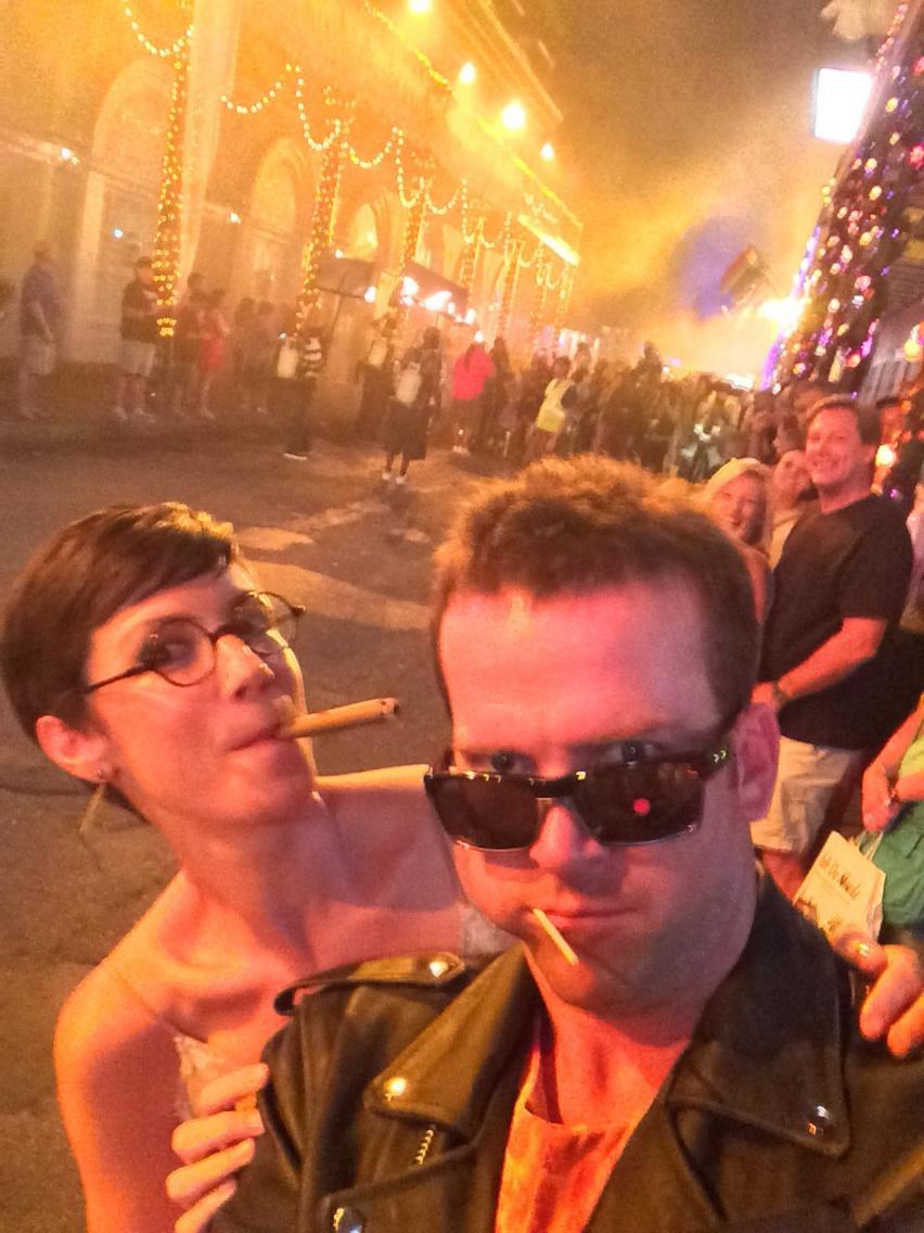 Lucas Black and Zoe McLellan - NCIS: New Orleans