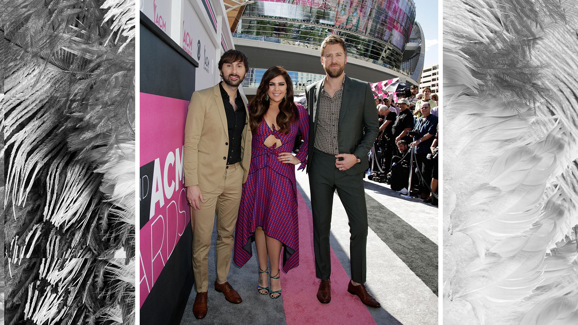 "Lady Antebellum is ""Lookin' For A Good Time"" in Vegas."