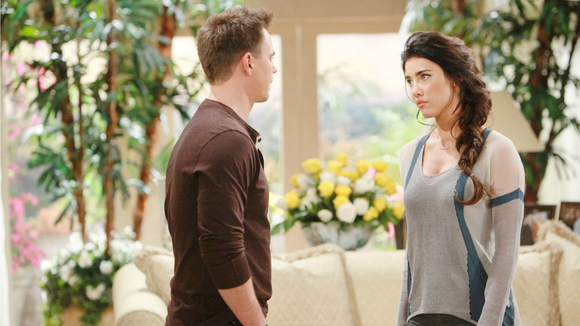 Steffy and Wyatt share a tender moment when she reaches out in hopes of convincing him to join the family at Thanksgiving.
