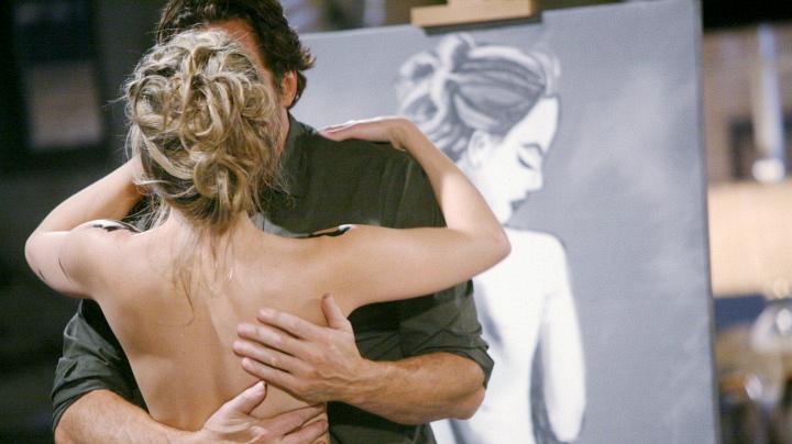 Caroline becomes Ridge's artistic muse.