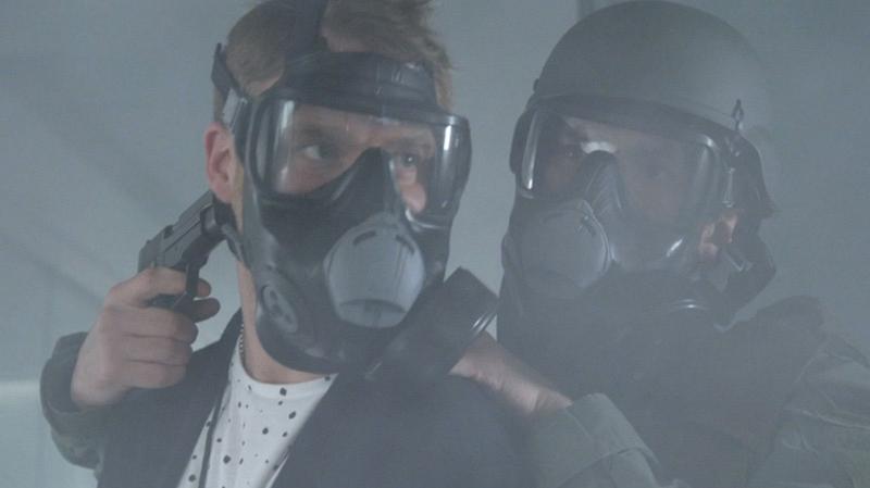 13. Gas mask