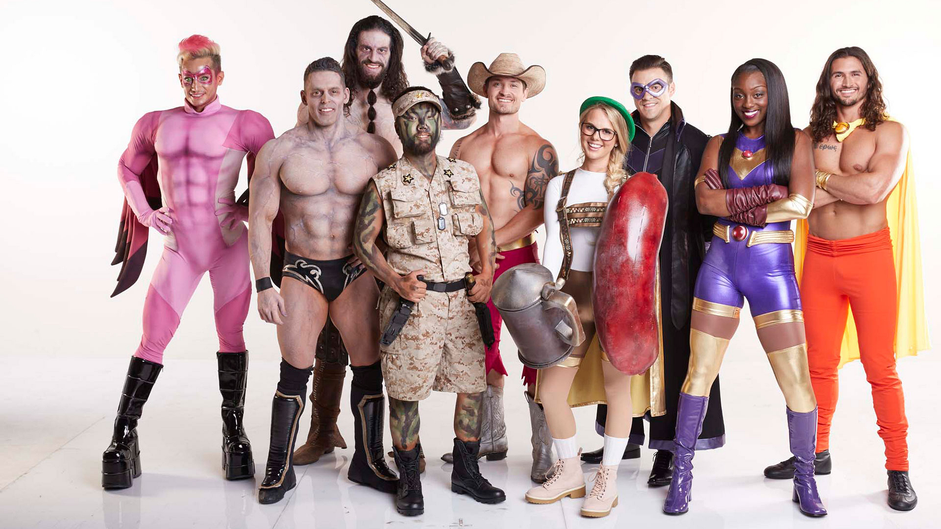The world's greatest superhero squad?