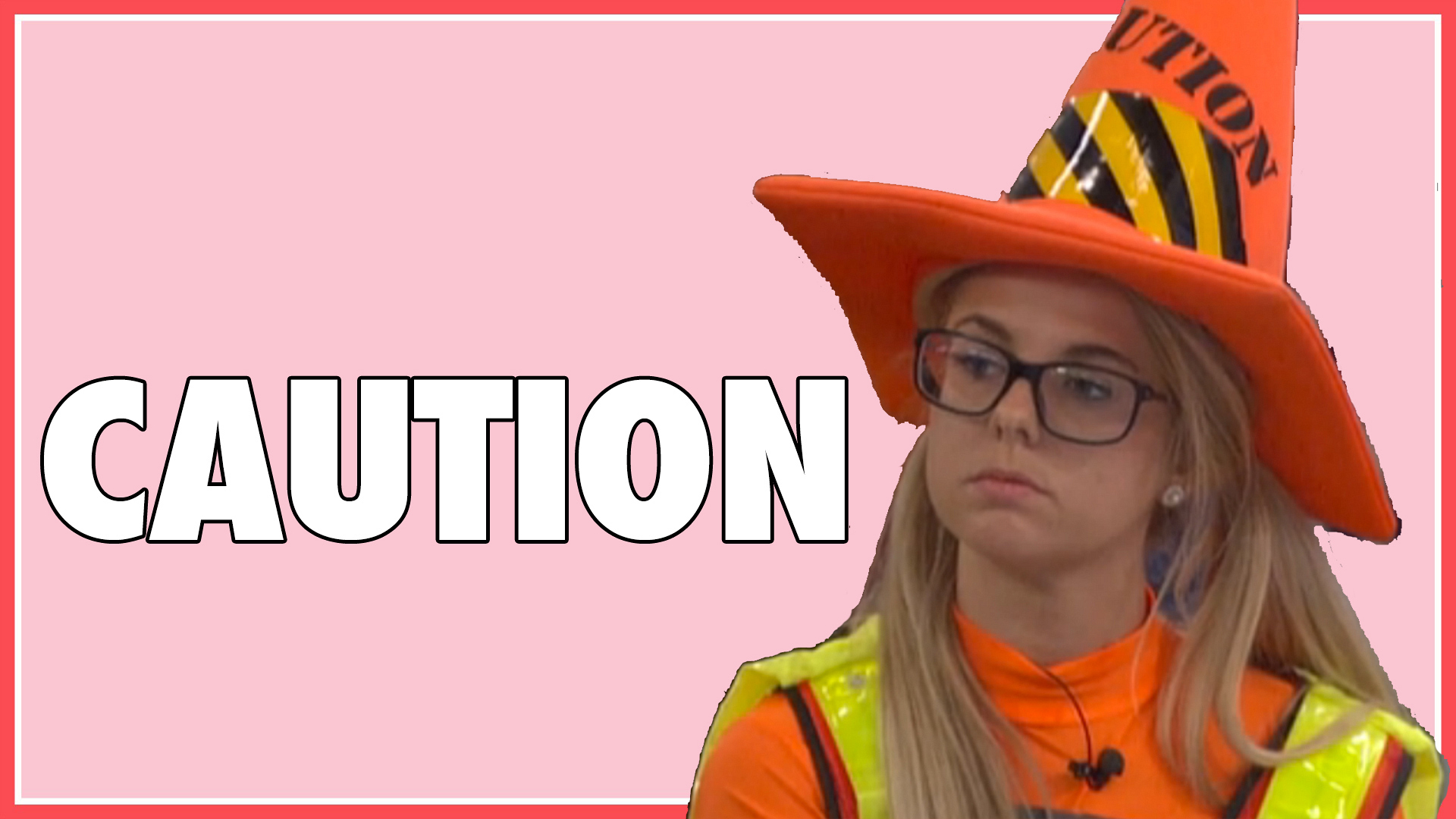 Question: What did Nicole's #SuperSafety hat say?