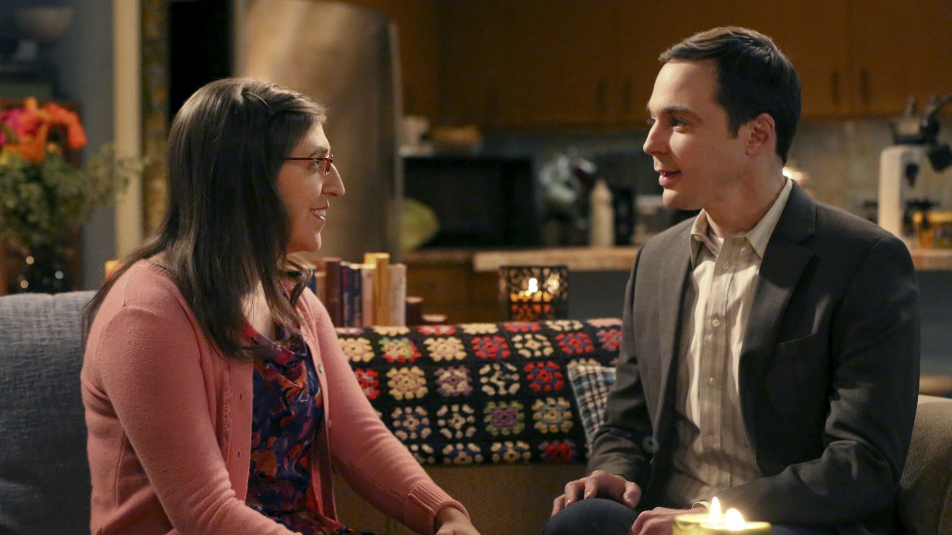 Amy and Sheldon took their relationship to the next level on The Big Bang Theory.