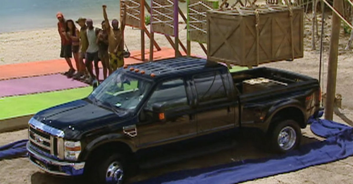 What Survivor famously gave away his prize of a brand new truck as part of an immunity deal, only to later have the deal broken?