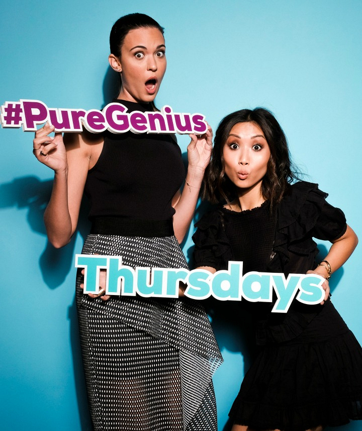 Odette Annable and Brenda Song from Pure Genius