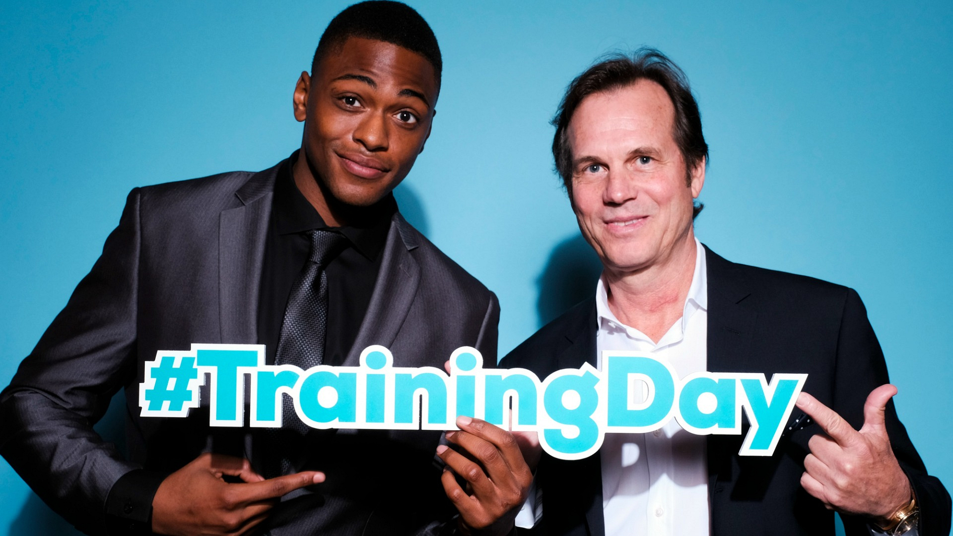Justin Cornwell and Bill Paxton from Training Day