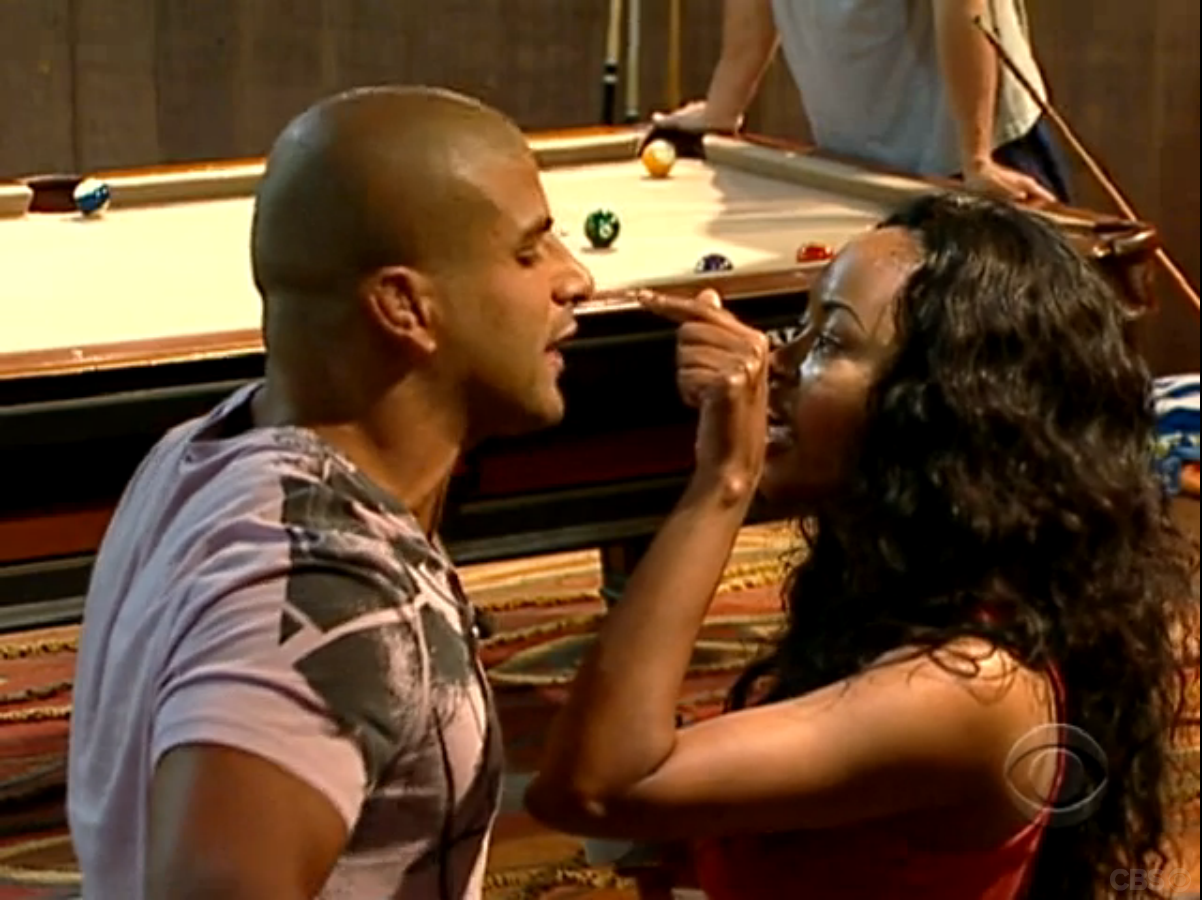 Chima vs. Russell (Big Brother 11)
