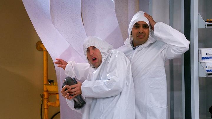 Howard Wolowitz and Raj Koothrappali - The Big Bang Theory
