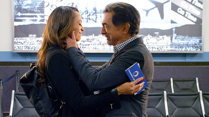 Rossi met his daughter, Joy. - <em>Criminal Minds</em>