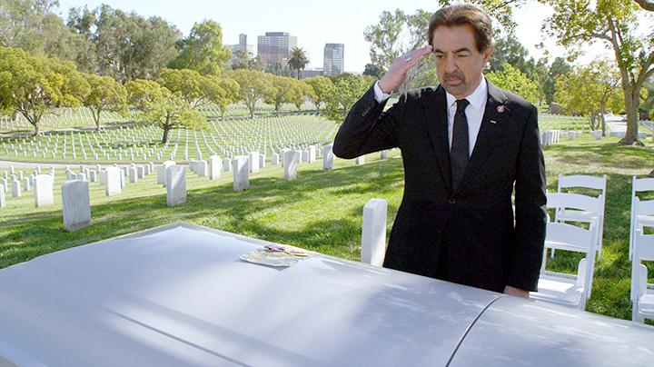 Rossi had to say goodbye to an old friend. - <em>Criminal Minds</em>
