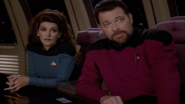 Main cast of characters to care about: Commander Deanna Troi