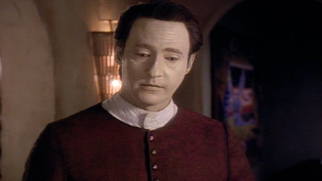 Main cast of characters to care about: Lieutenant Commander Data
