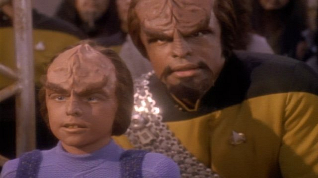 Main cast of characters to care about: Lieutenant Worf