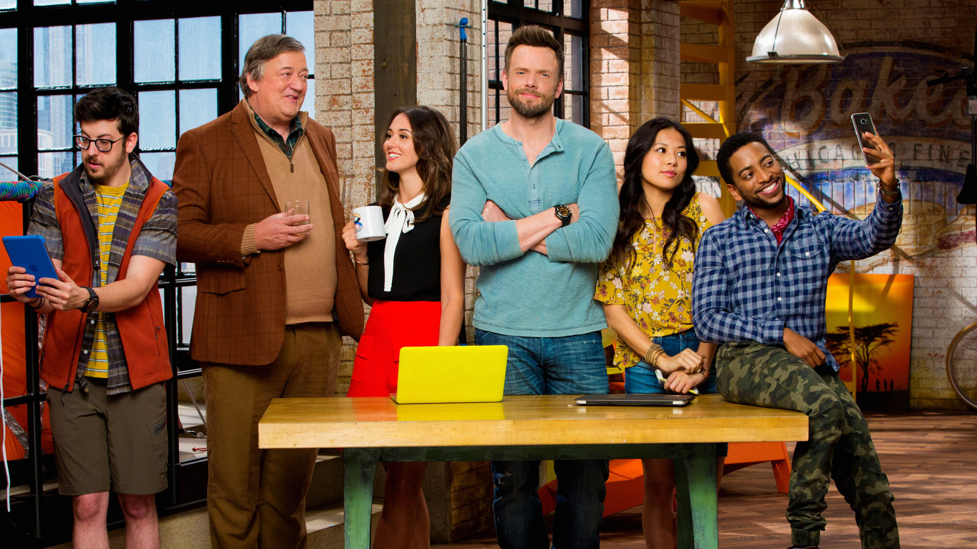 New series The Great Indoors premieres on Thursday, Oct. 27 at 8:30/7:30c.