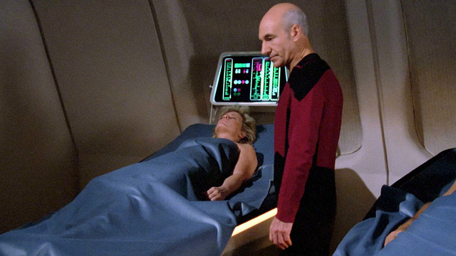 Main cast of characters to care about: Captain Picard