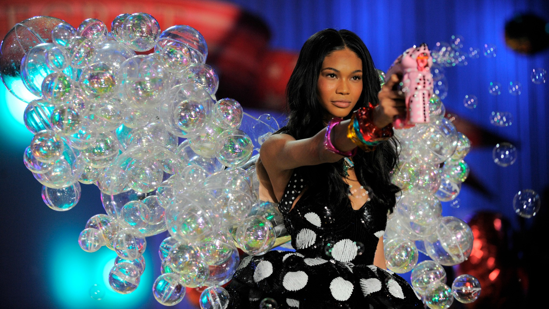 Chanel Iman bubbled up in 2010.