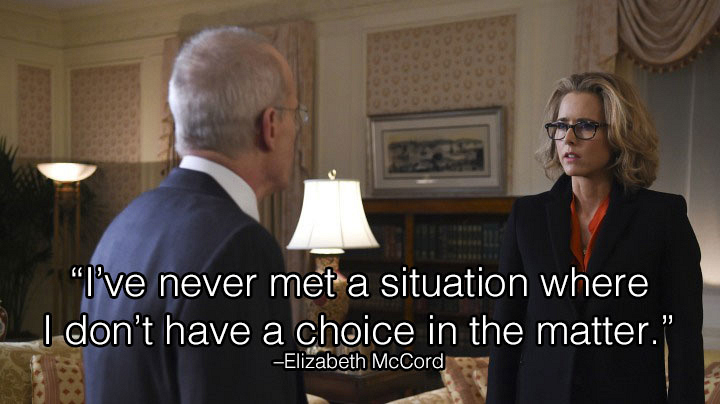 1. Madam Secretary reminds us we always have a say.