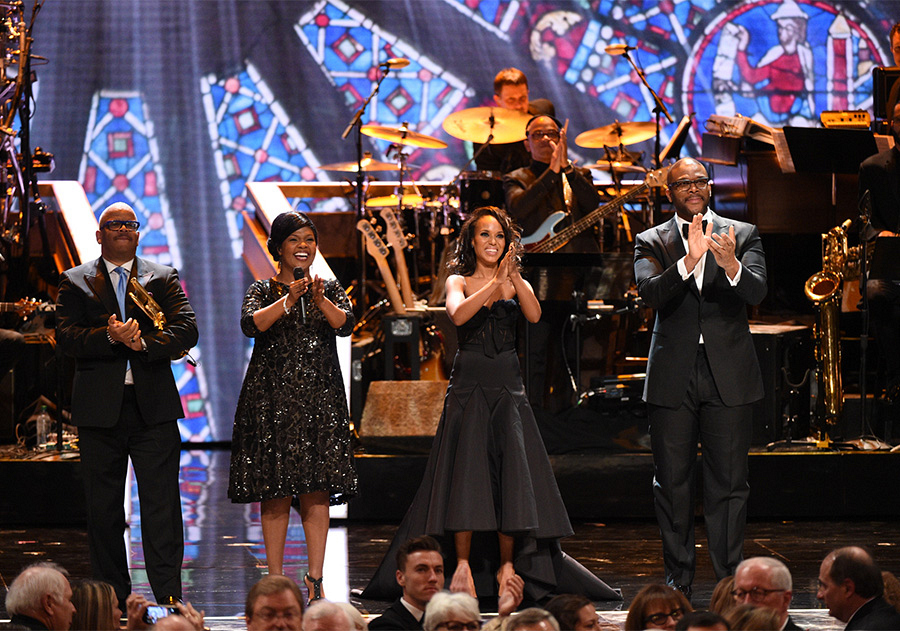 Terence Blanchard, CeCe Winans, Kerry Washington, and Tyler Perry honor Cicely Tyson.