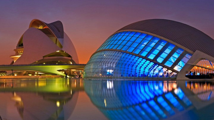 3. The City of Arts and Sciences in Valencia, Spain
