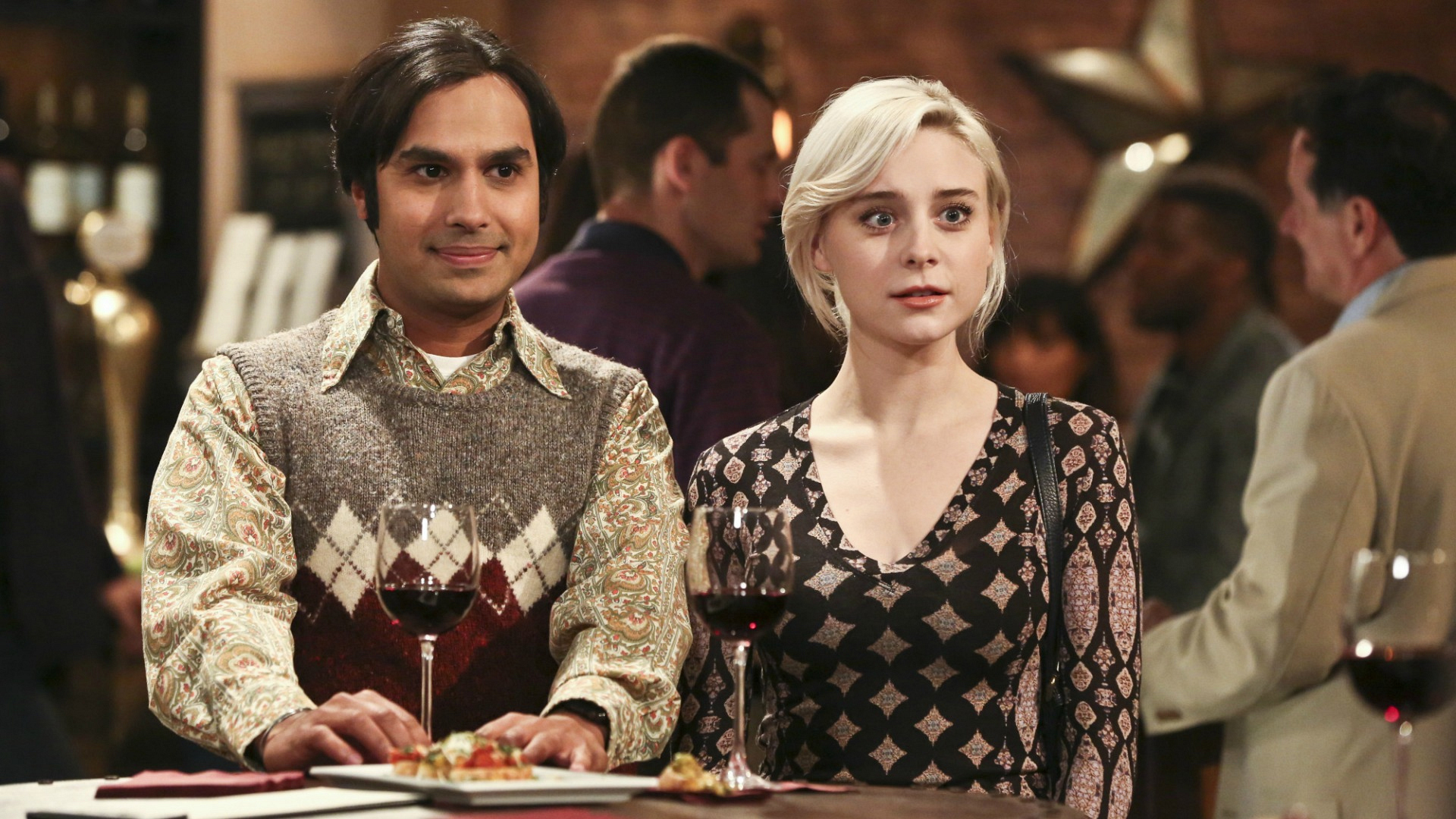 How will Raj deal with his love triangle on The Big Bang Theory?