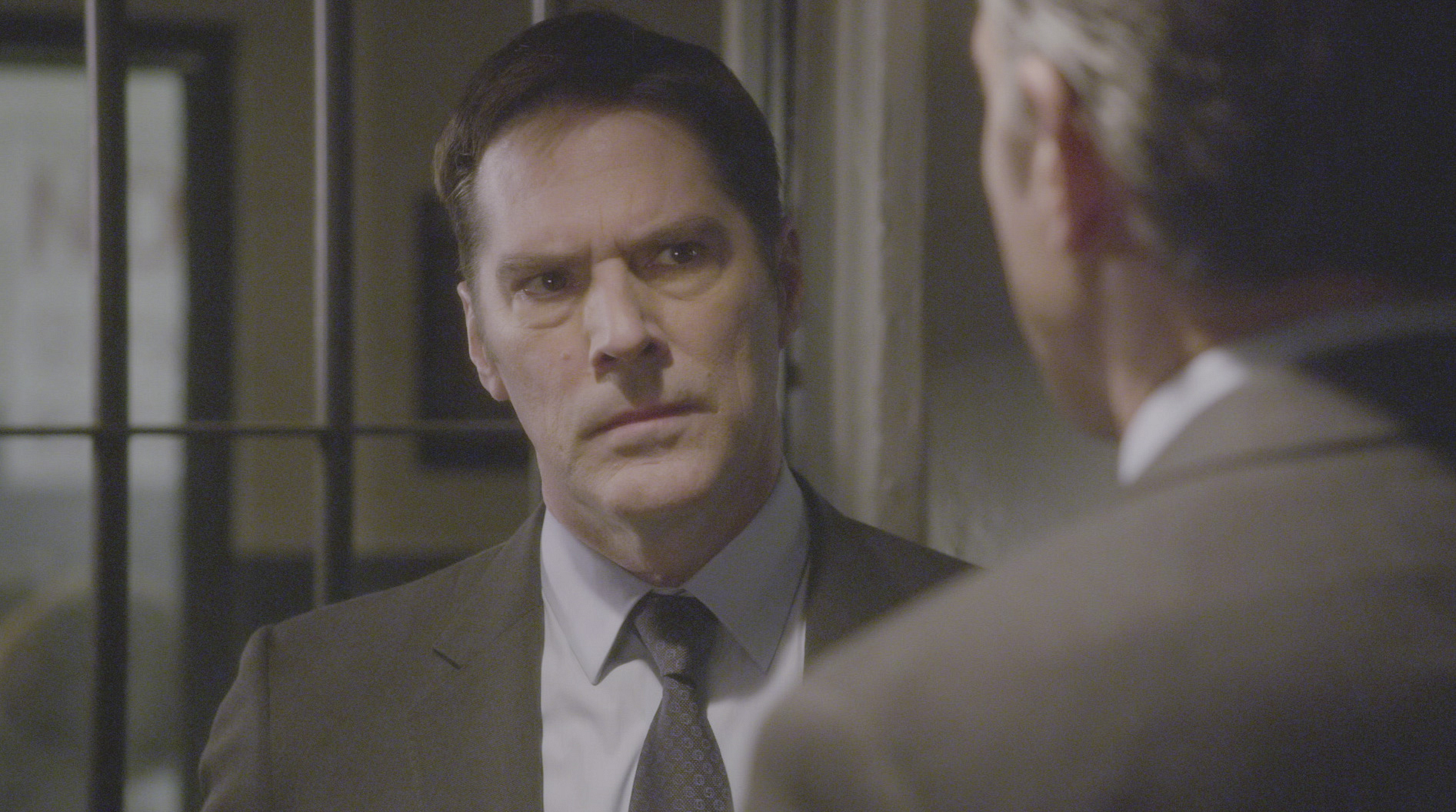 Hotch delves deeper into the case.
