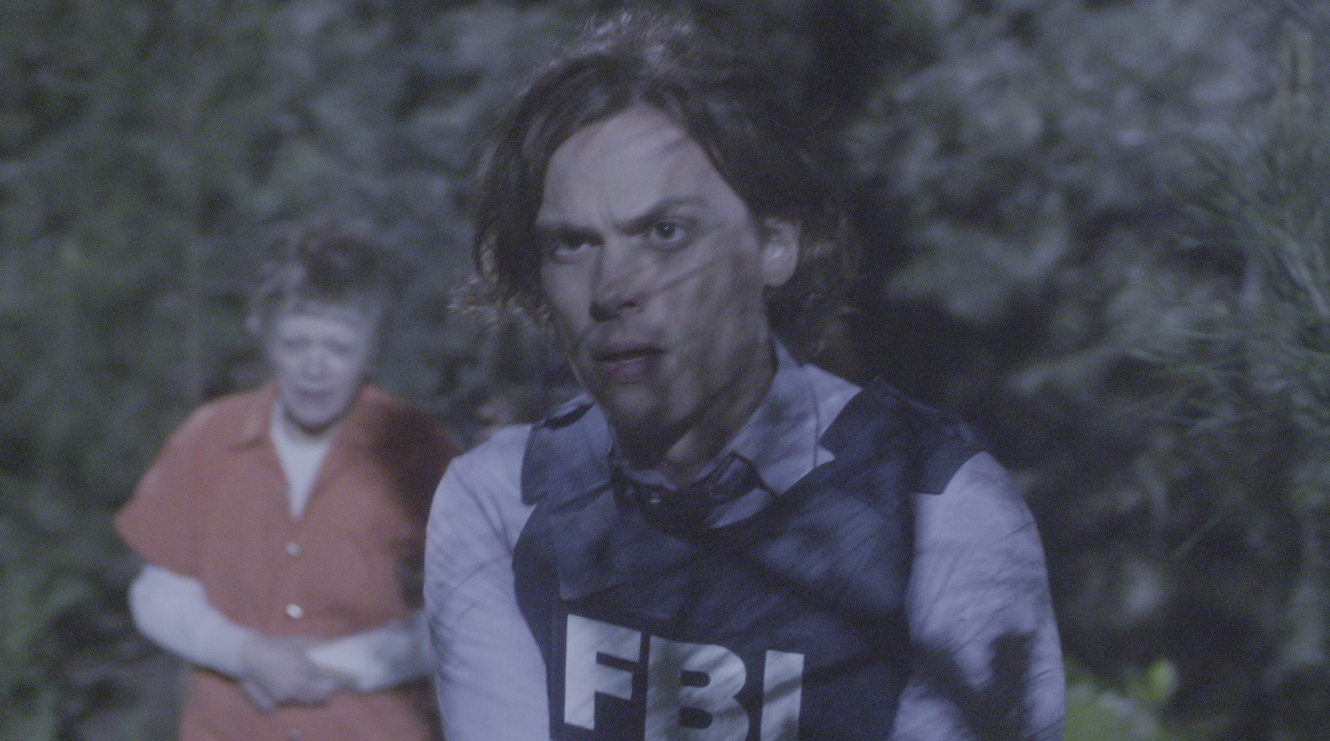 Reid goes into the field.