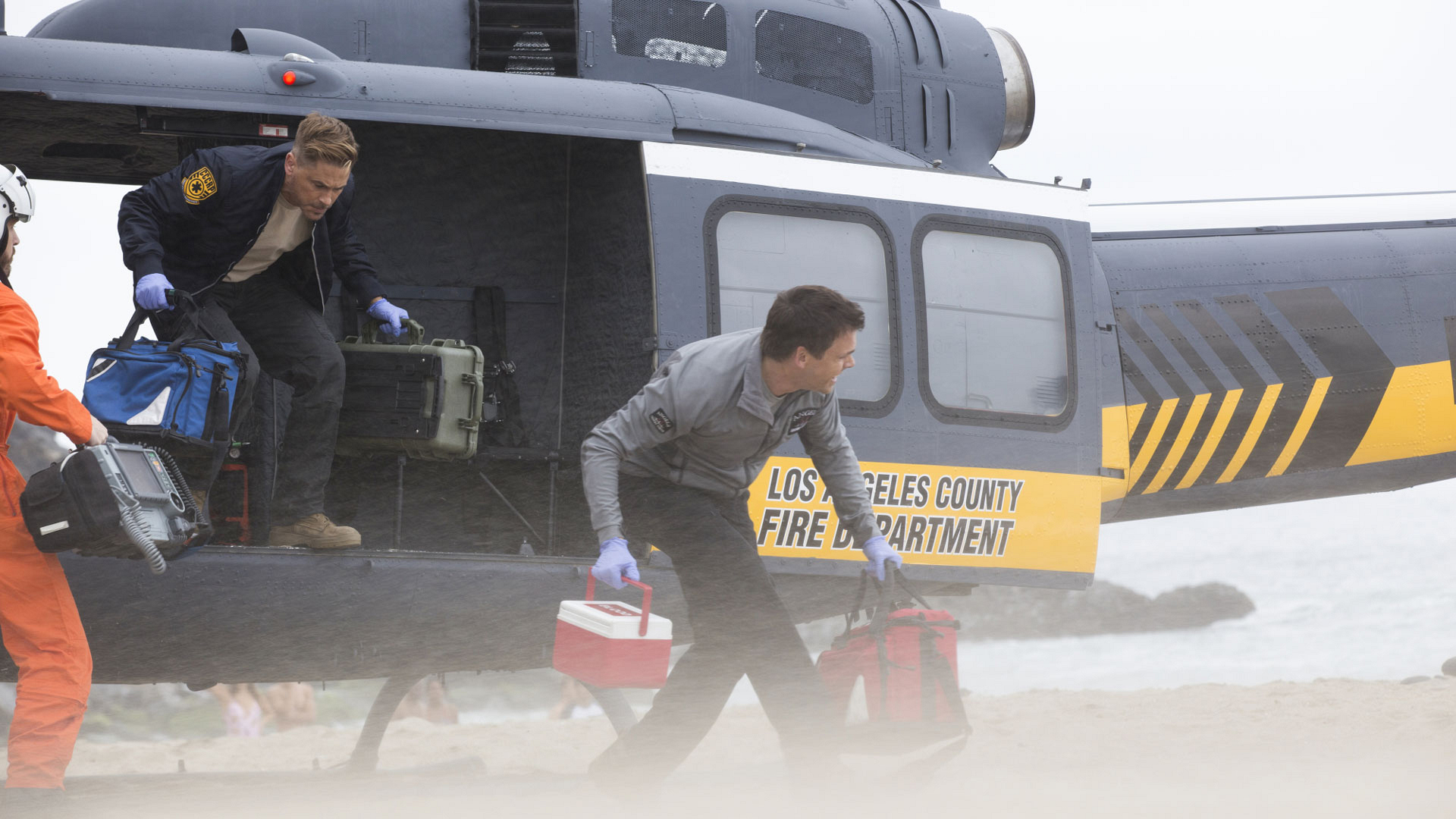 It'll be a helicopter ride for the books on Code Black.