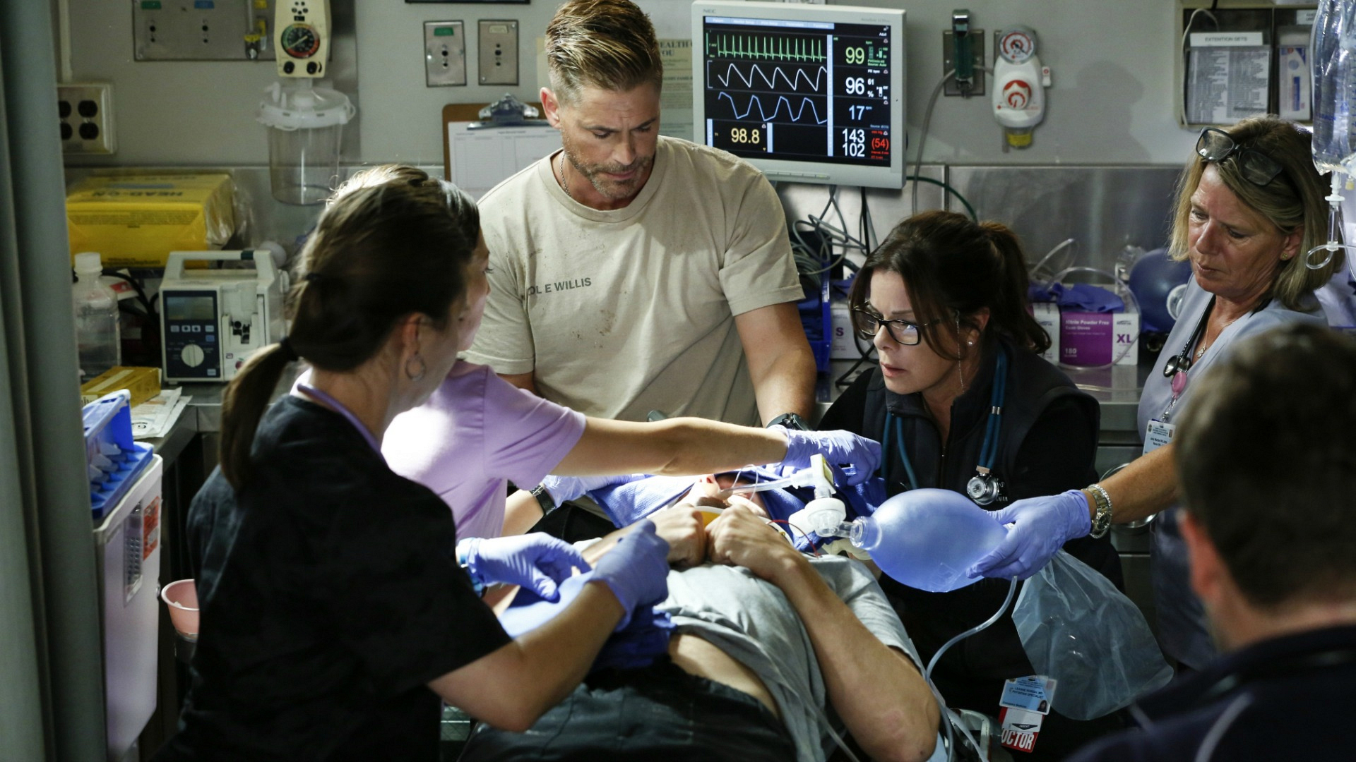 We're pumped (literally) to see more life-saving surgeries on Code Black.