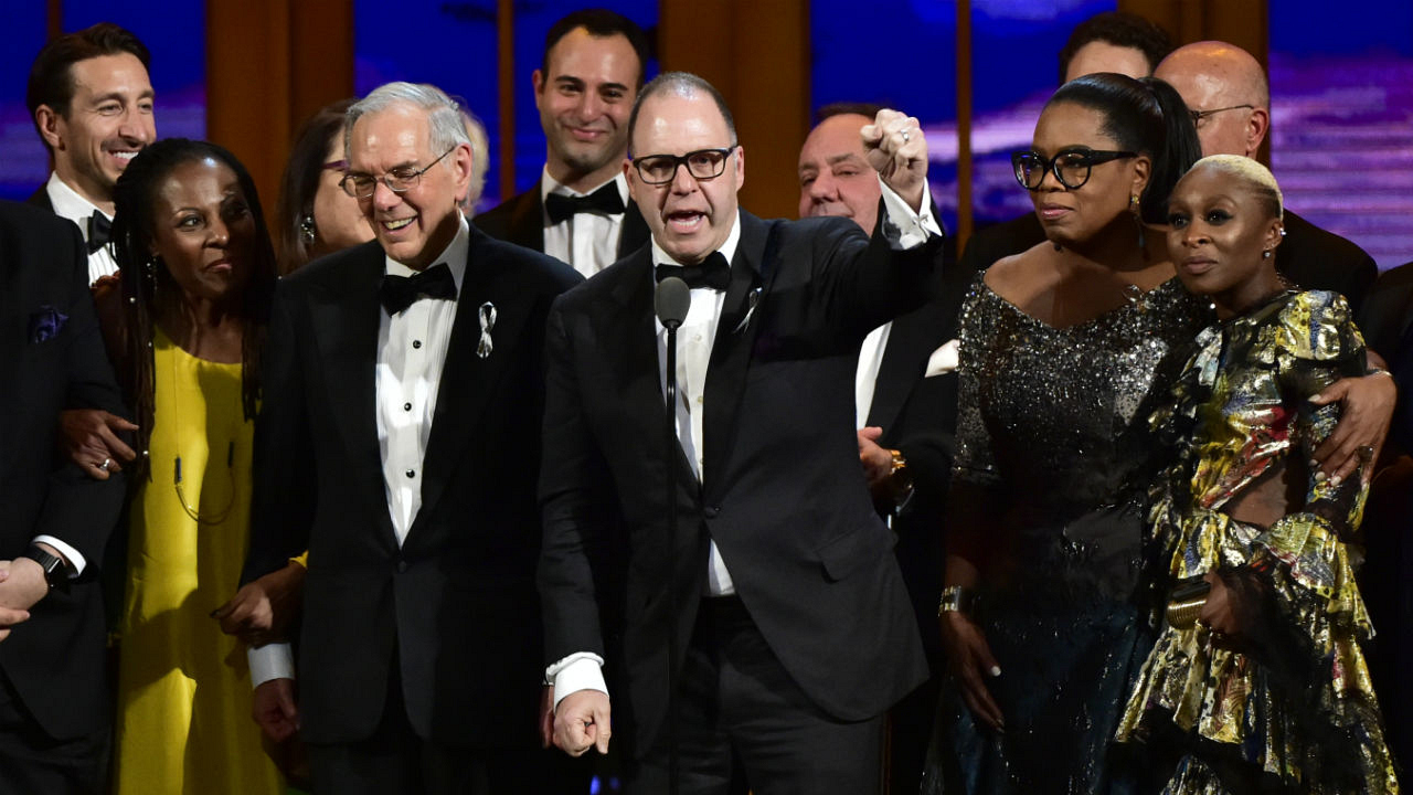 The Color Purple wins the 2016 Tony Award for Best Revival of a Musical.