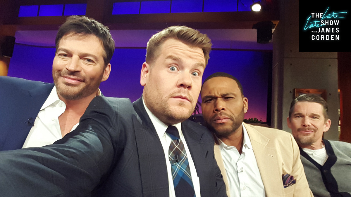 Harry Connick Jr., Anthony Anderson and Ethan Hawke
