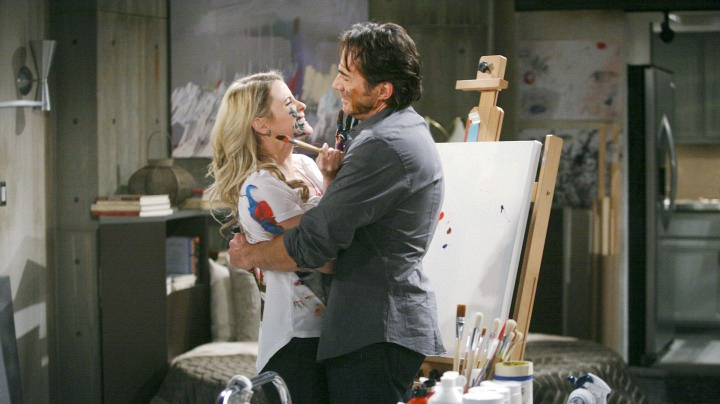 Caroline starts working closely with Ridge.