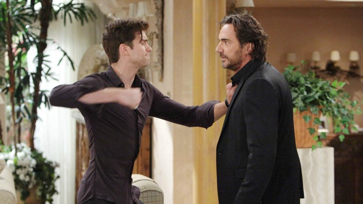 Thomas lashes out at Ridge.