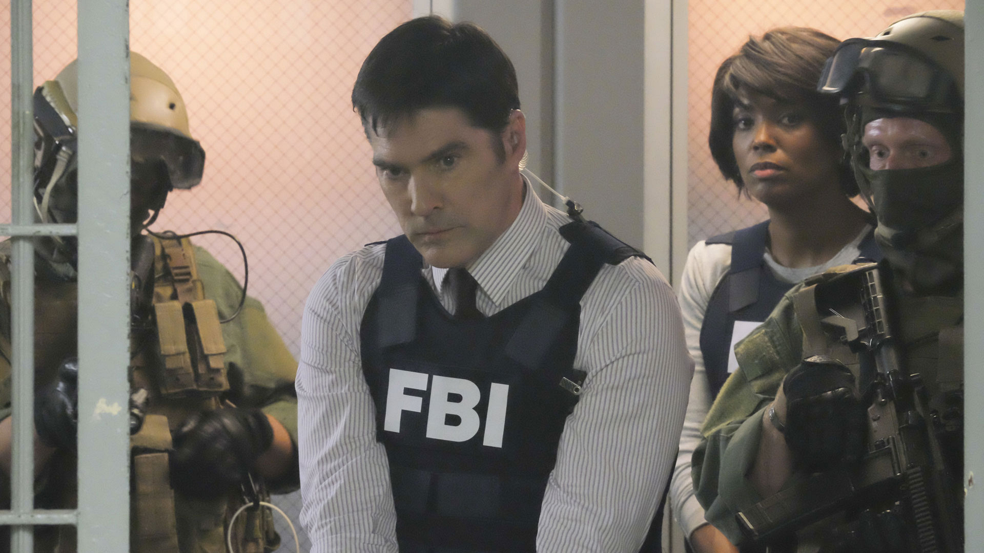 13 serial killers were released from a super-max prison on Criminal Minds.