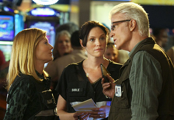 First Photo of Ted Danson On-Set