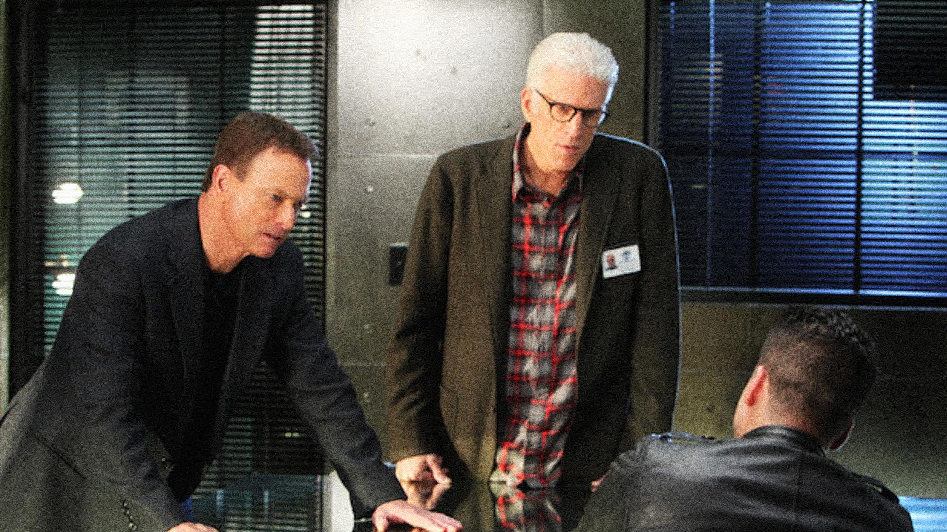 Mac Taylor on CSI