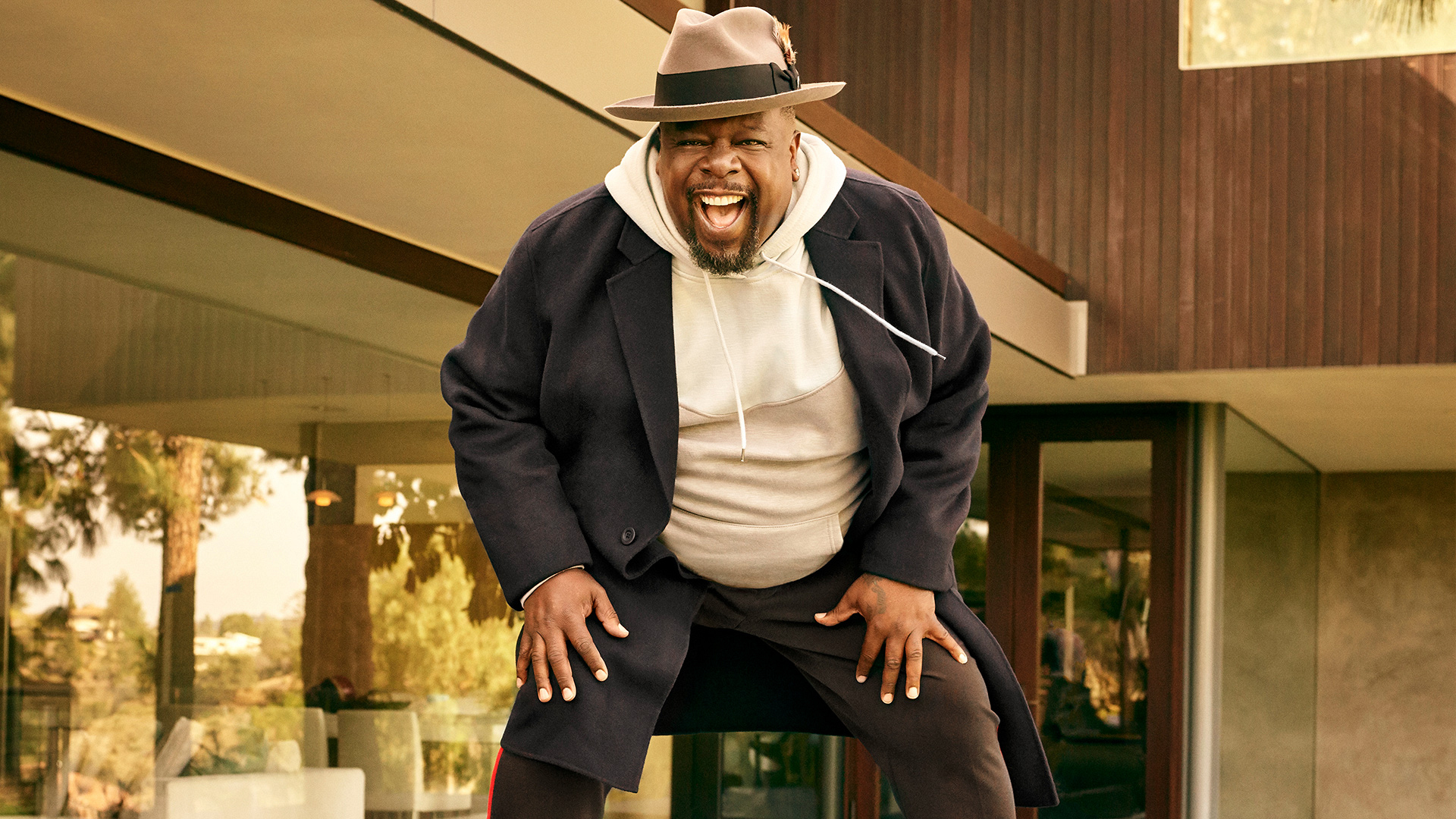 Cedric The Entertainer gives CBS fans a warm welcome to The Neighborhood