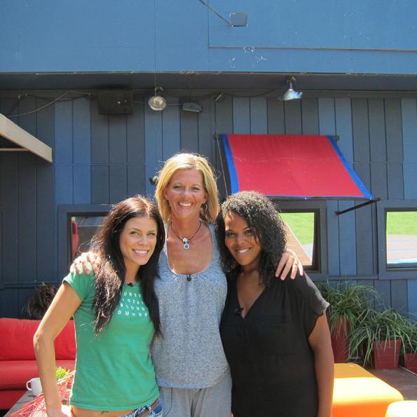 Daniele, Shelly and Kalia