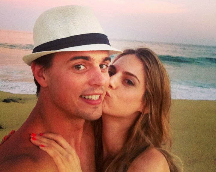 The Bold and the Beautiful's Darin Brooks and fiancée Kelly Kruger