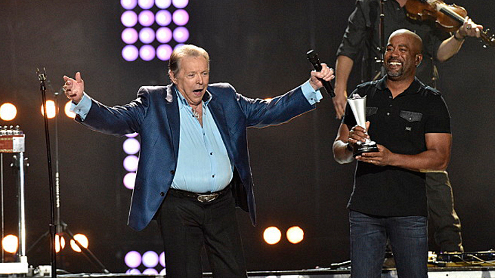 Mickey Gilley and Darius Rucker