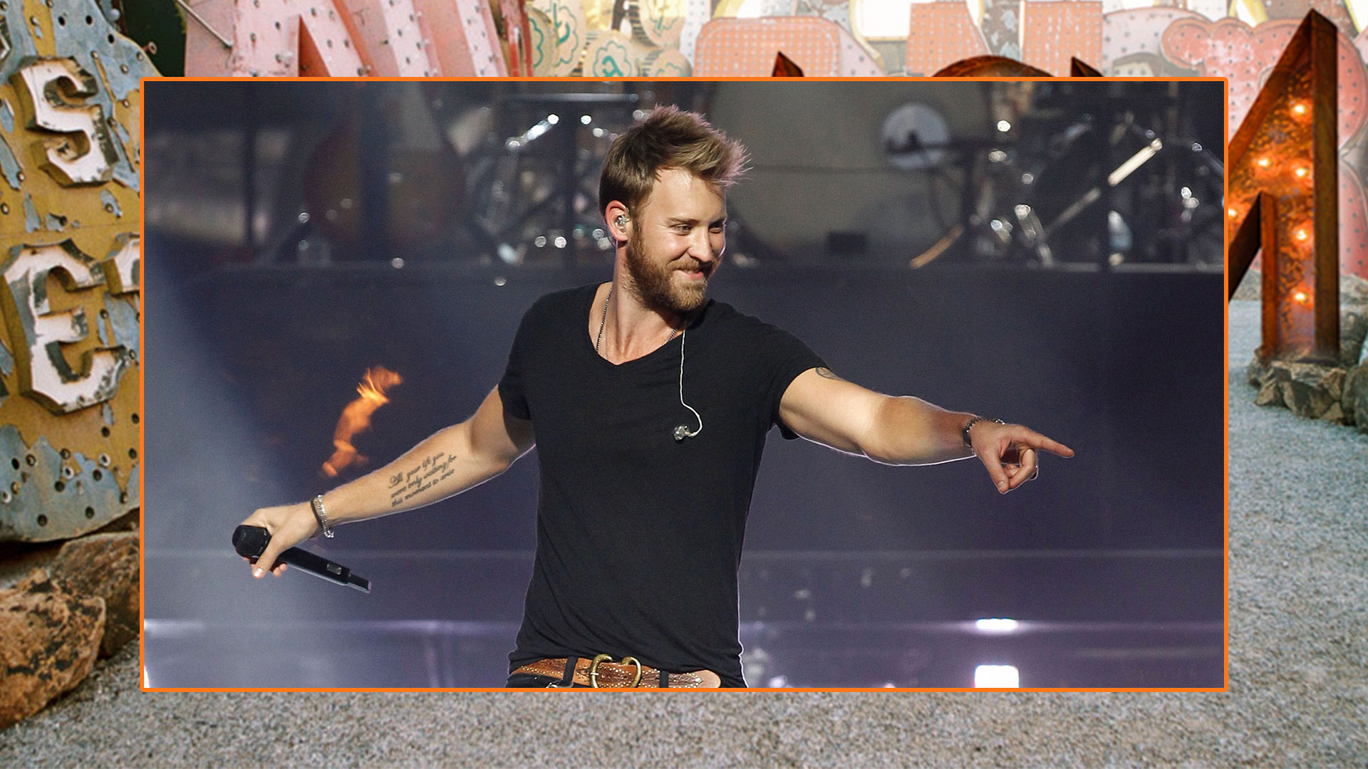 Charles Kelley's stubble just makes us want him more.