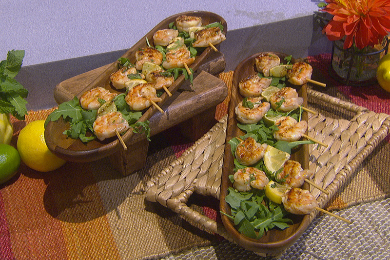 David Tutera's Citrus Shrimp Skewers