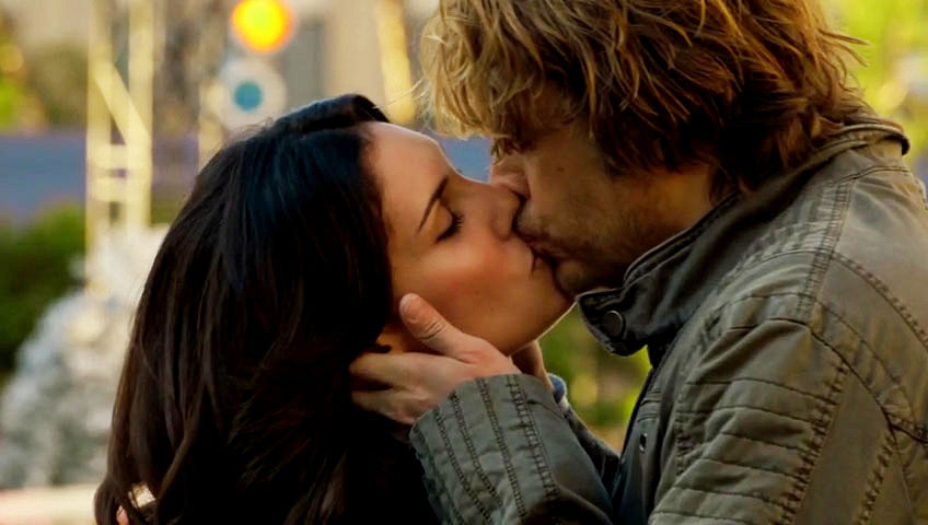 12. Deeks and Kensi went bold - NCIS: Los Angeles