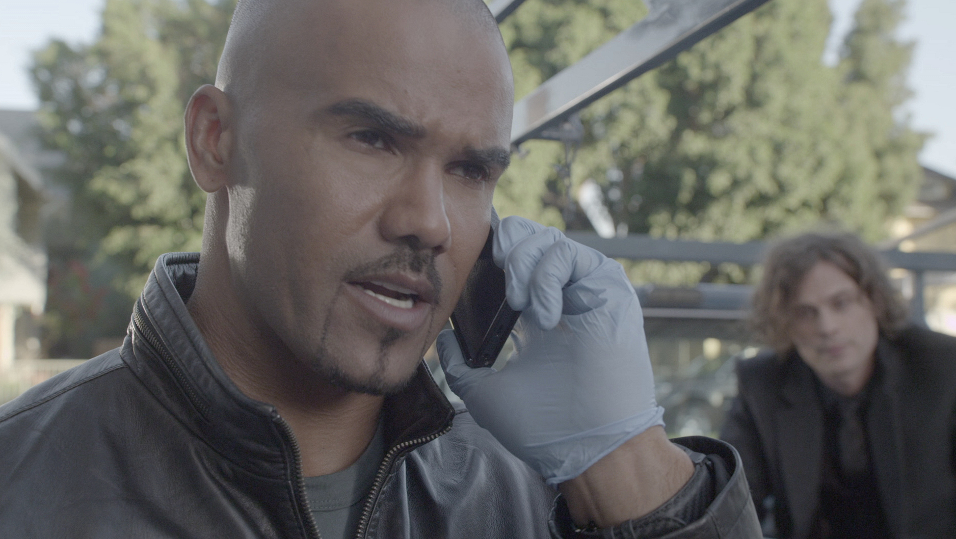 It's Shemar Moore, who plays Derek Morgan on Criminal Minds!