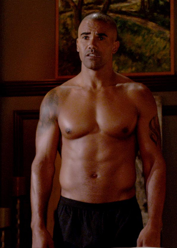 It's Shemar Moore or, for Criminal Minds fans, SSA Derek Morgan!